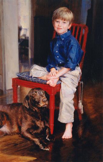 Sample portrait of child