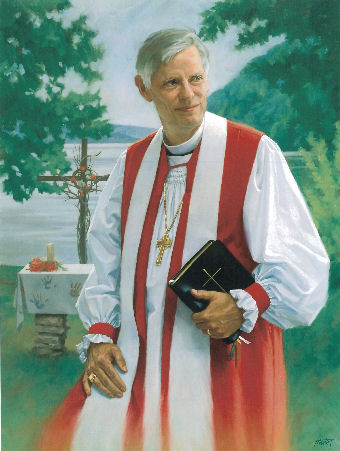 oil portrait of catholic priest
