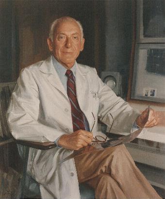 oil portrait of doctor
