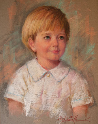 pastel portrait from life