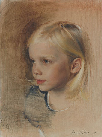 Oil, Tempra  portrait