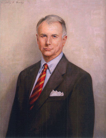 oil portrait of business man